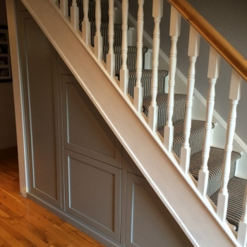 Shaker style fronts sprayed any colour you choose